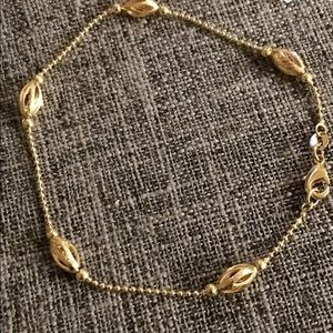 Jewelry - Unique Gold/Gold filled Anklet